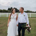 Amber & Sonny Wedding Florida Couple Field
