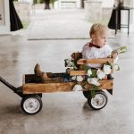 Amber & Sonny Wedding Florida Little Wagon
