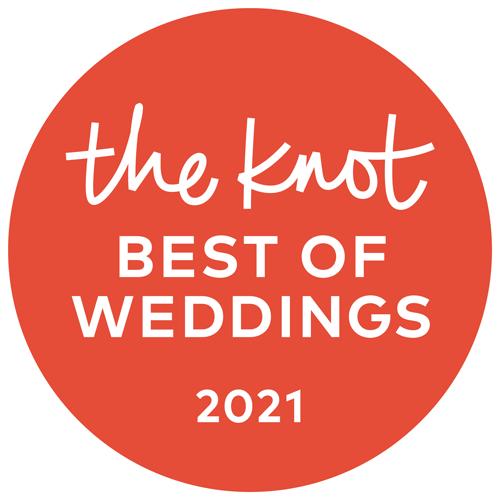 Best of the Weddings Knot Badge 2021